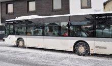 цепи противоскольжения на автобус
