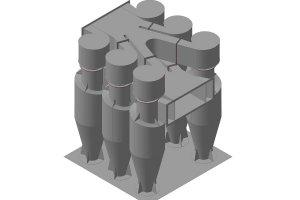 Купить циклонный пылеуловитель с доставкой Украина СНГ