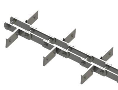 транспортер скребковый цепь