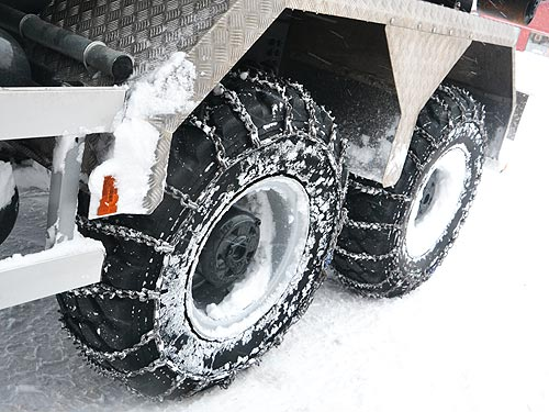 цепи противоскольжения для грузовика
